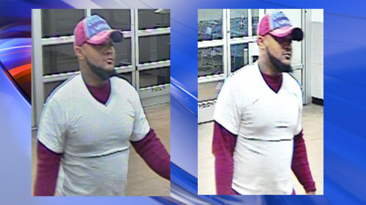 Virginia Beach police searching for man who allegedly stole wallet of elderly victim