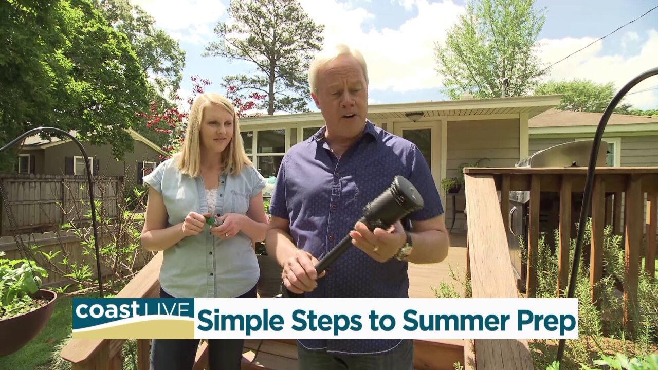 Tips for outdoor chores with Today's Homeowner host Danny Lipford on CoastLive