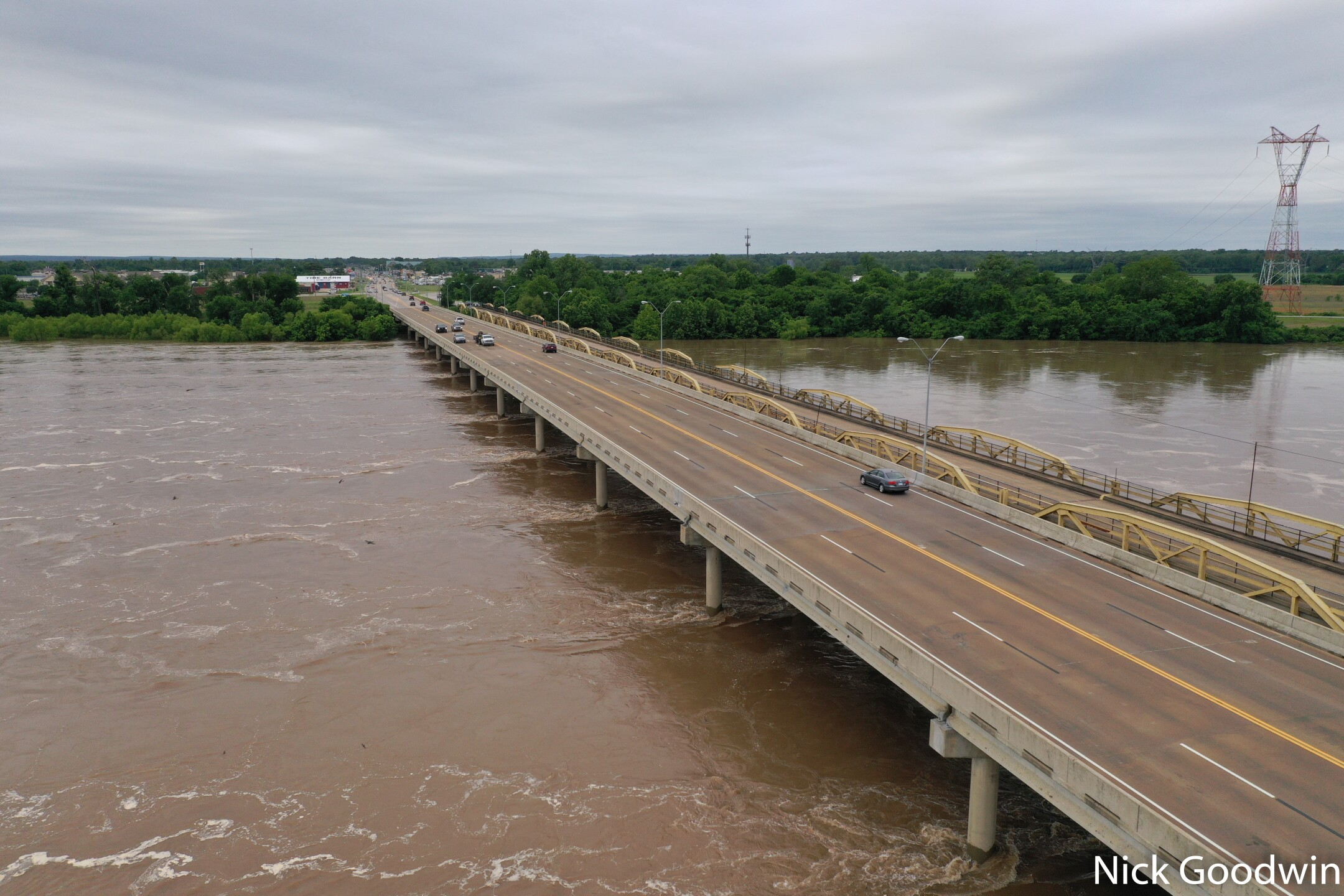 Arkansas River flood