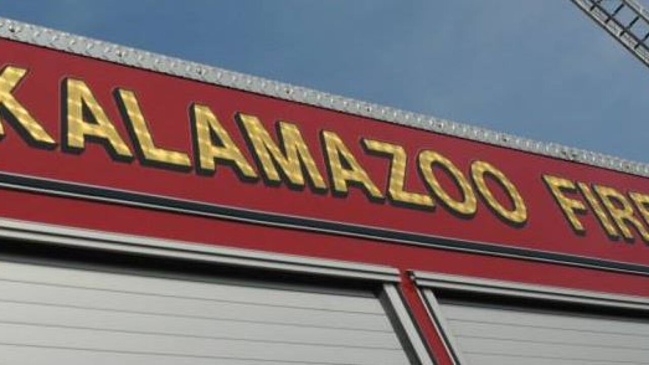 Kalamazoo fire being investigated as suspicious