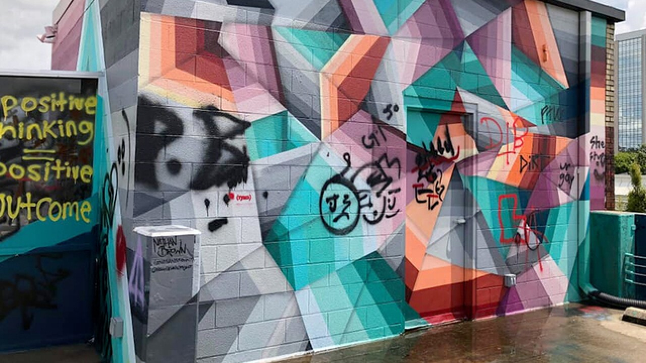 Nashville Mural Vandalized 4 Times; Suspect Sought