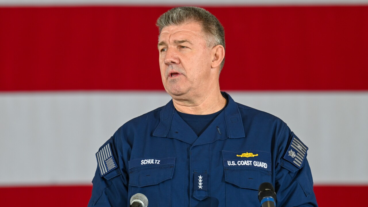 Coast Guard Commandant delivers State of the Coast Guard address in San Diego