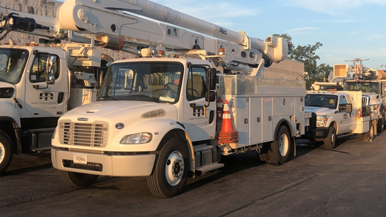 MTEMC Sending Crews For Florence Relief