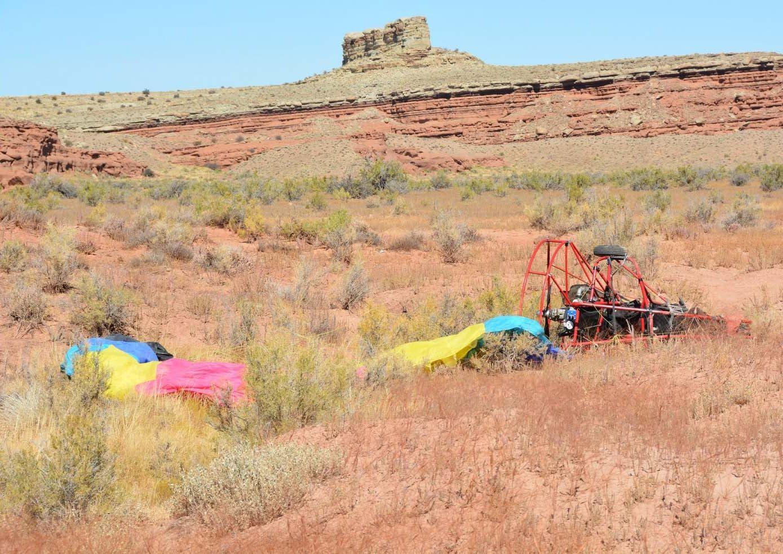 Photos: Idaho man killed in powered parachute crash in San RafaelSwell