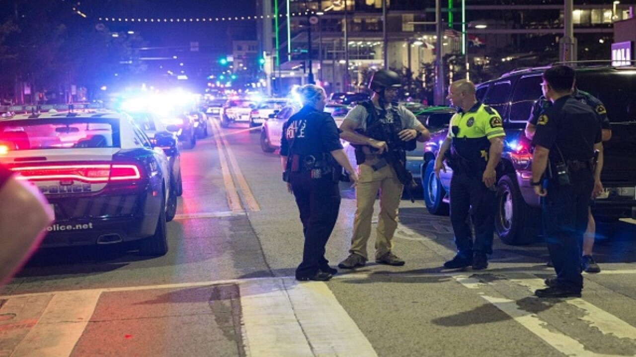 There are four suspects in the Dallas shootings