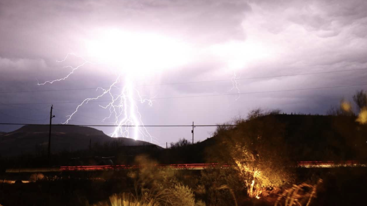 Monsoon lightning - 8-28-19