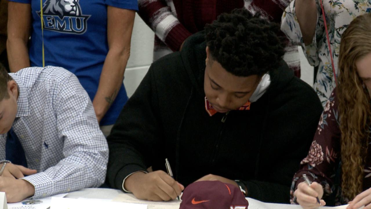 Ocean Lakes' Jaevon Becton signs to Virginia Tech, Jalen Smith headed toHoward