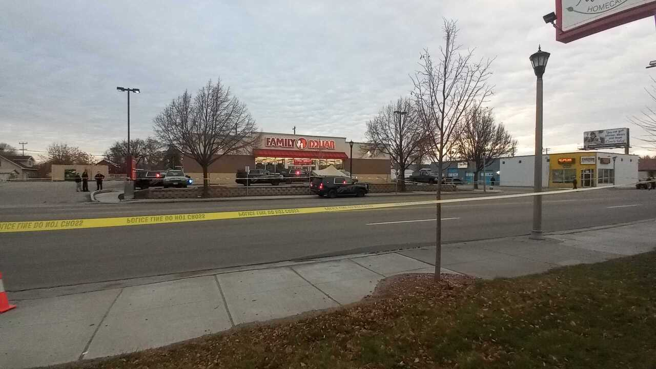 Incident at Nampa Family Dollar