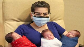 Texas Mom Beat COVID-19, Then Gave Birth To Triplets