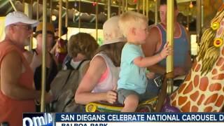 San Diego celebrates National Carousel Day
