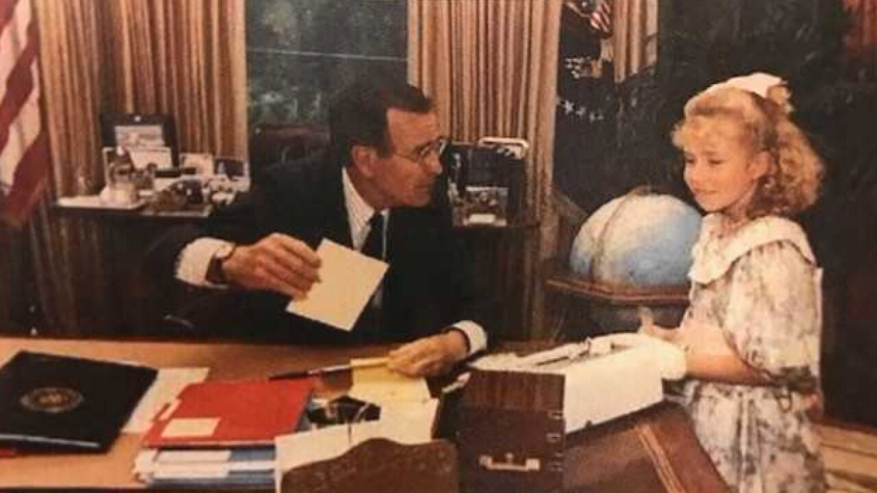Vanderbilt University professor visited George H. W. Bush at the White House