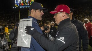 Harbaugh created Big Ten's plan for Week 9 crossover game, Indiana's Allen says