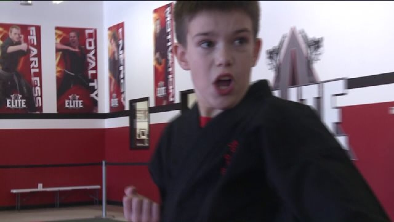 Sandy boy with autism shatters stereotypes, takes World Title in Taekwondo competition