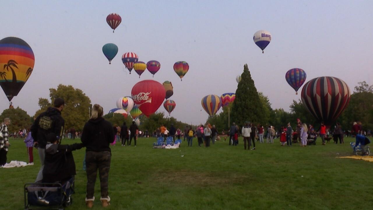 2021 Spirit of Boise Balloon Classic