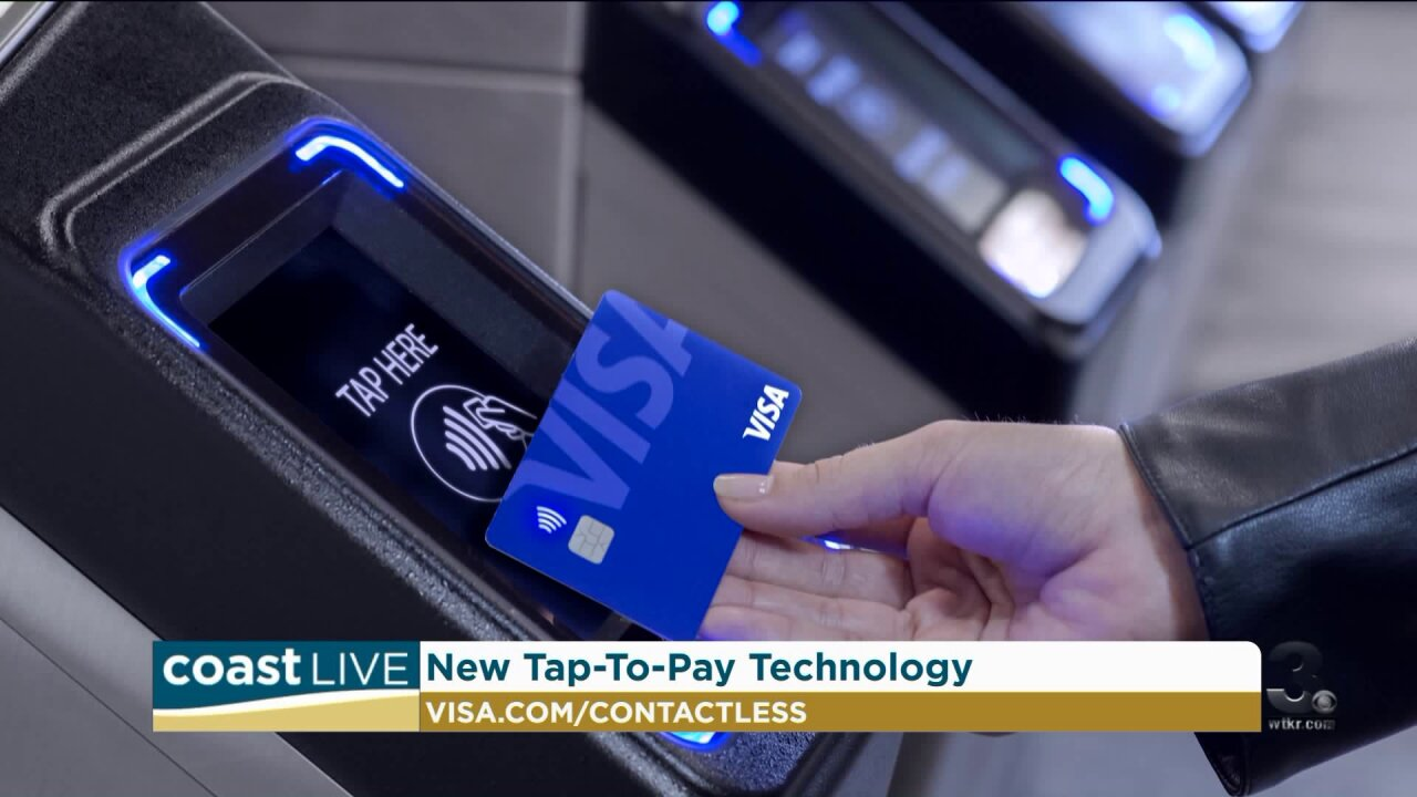 Learning about new tap to pay technology on Coast Live