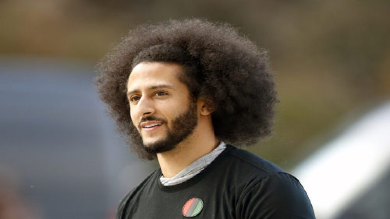Ben & Jerry's Put Up A Mural And Billboards Of Colin Kaepernick Outside Super Bowl Stadium