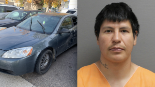 GFPD recovers stolen car after chase