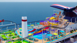 Carnival to debut 'first roller coaster at sea' in 2021