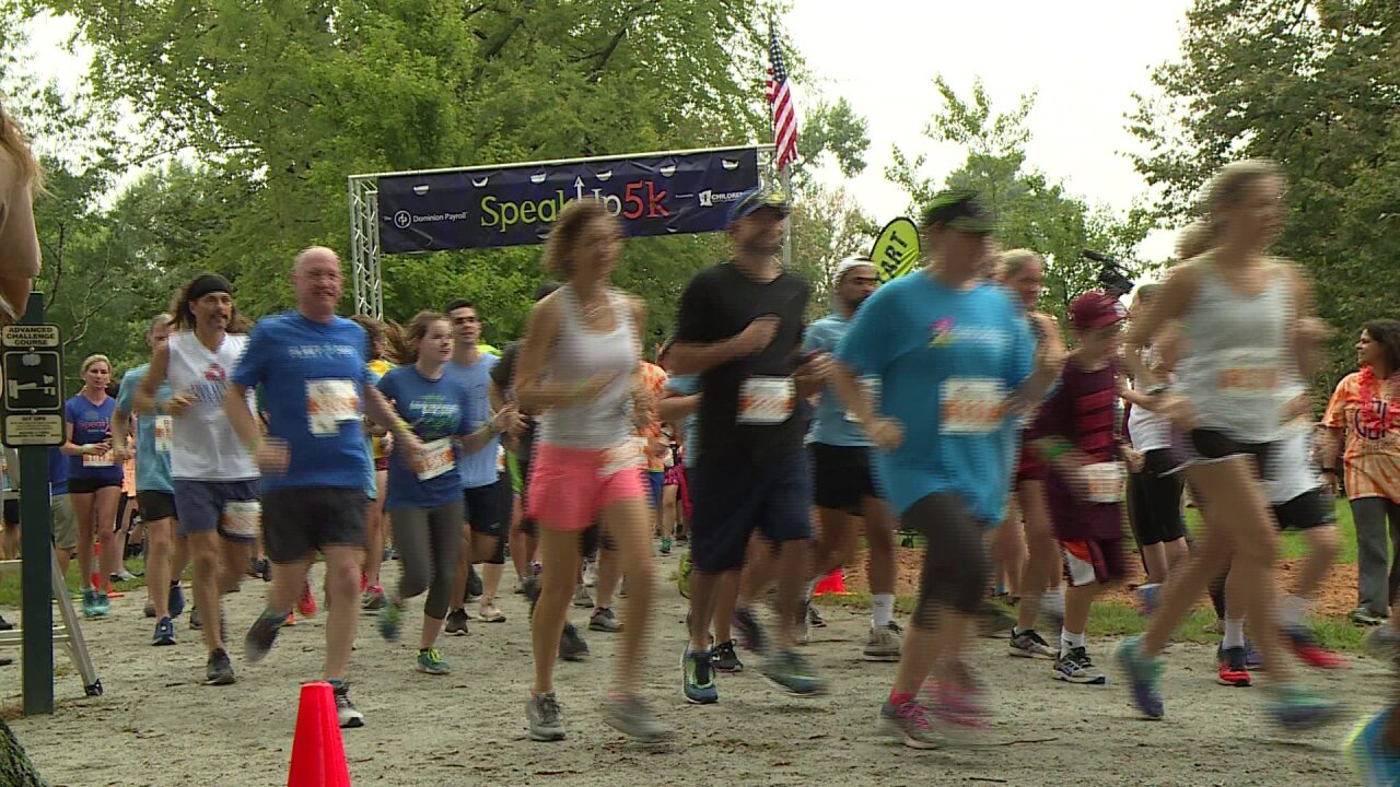 SpeakUp5k at Byrd Park honors sophomore who died running half-marathon