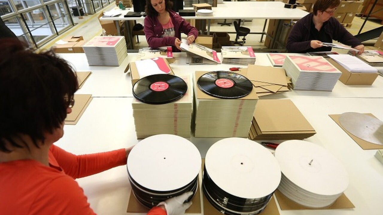 PHOTOS: Vinyl lives on in hearts of music lovers