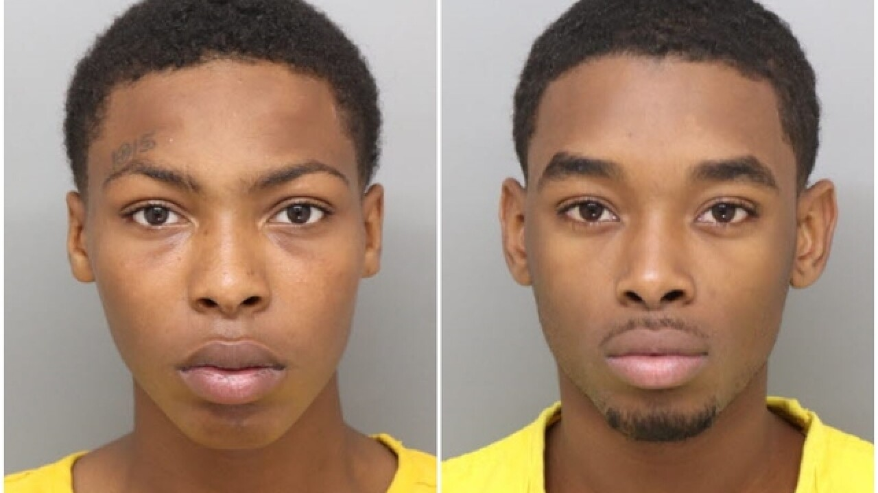 Pair charged in Forest Park shooting death