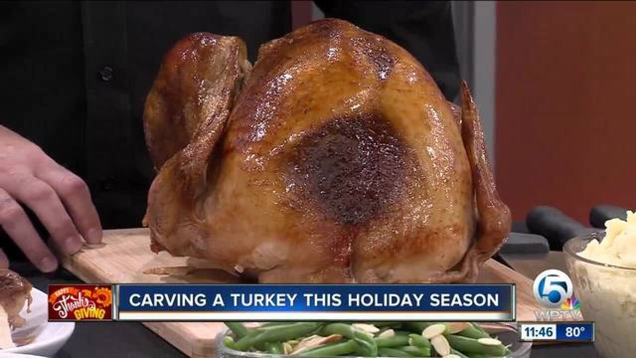 Advice on carving your holiday turkey