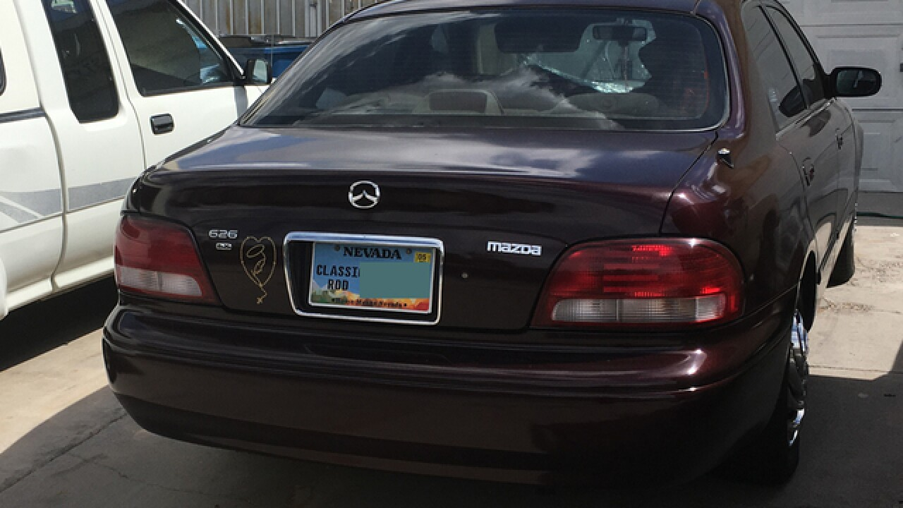 Why do so many cars in Nevada have 'classic vehicle' plates?