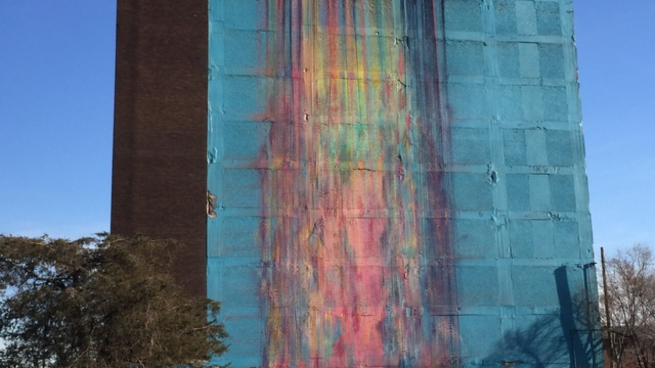 Artist sues to protect mural on Detroit building