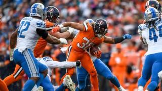 Phillip_Lindsay_Detroit Lions v Denver Broncos