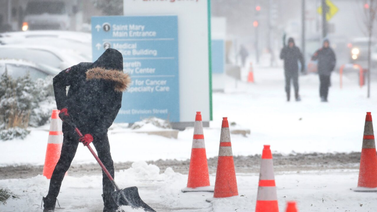 70% of the country will experience freezing temperatures this week