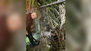 Port St. Lucie police rescue Delray Beach man trapped in woods Dec. 20, 2020