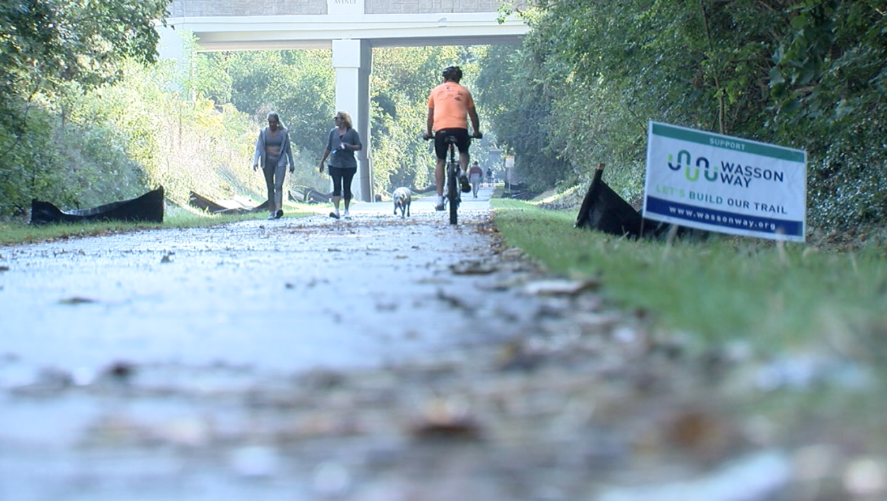 The new phase of the Wasson Way Trail opened on Sept. 15, 2021.