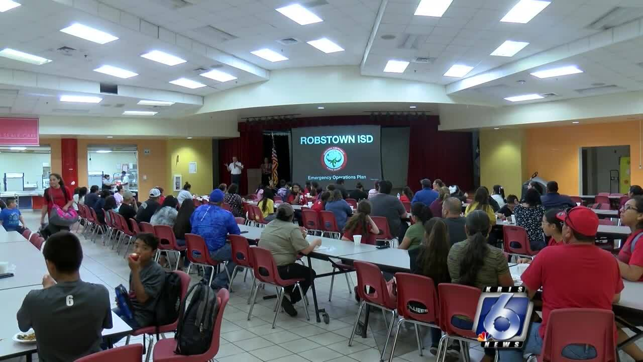 Robstown school safety meeting