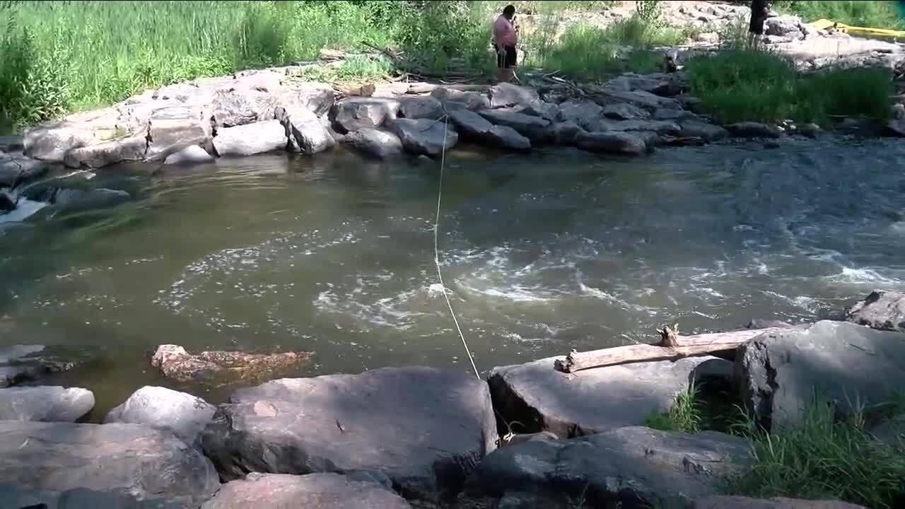 Rope across Bear Creek_July 18 2021