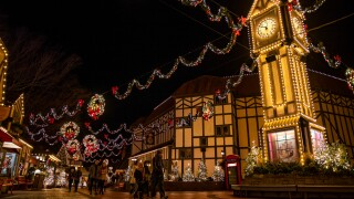 Photos: Busch Gardens Williamsburg's Christmas Town featuring new highlights for 2019