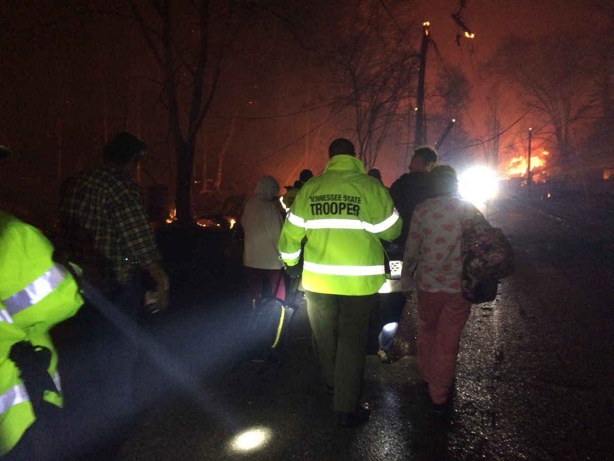 Photos: 3 more bodies recovered after Tennessee fires, death toll up to7