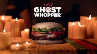 Burger King is selling a 'Ghost Whopper' for Halloween