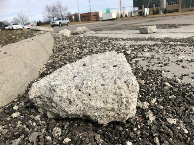 POTHOLES: Take a look at these whoppers!