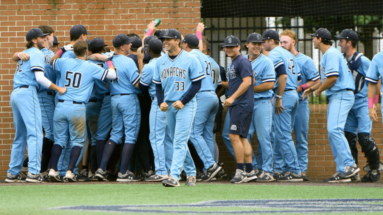 ODU baseball walks off in wild fashion on Senior Day