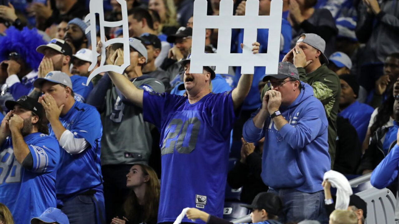 Detroit Lions hope fans can return to Ford Field for game against Colts