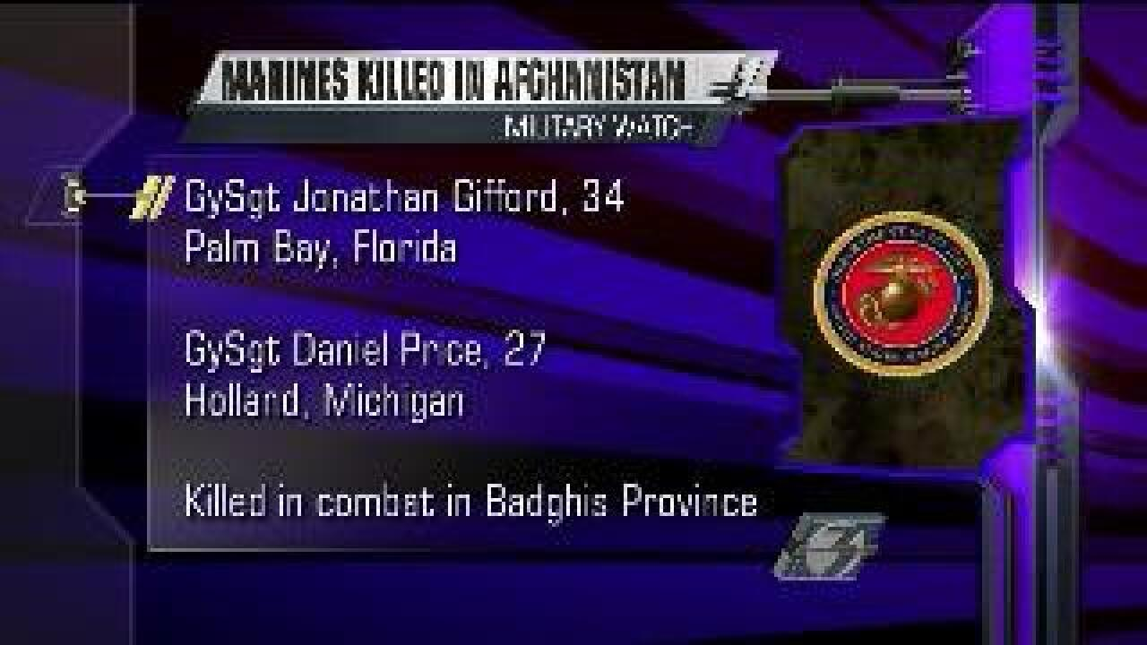 Two Marines, three Soldiers killed in Afghanistan