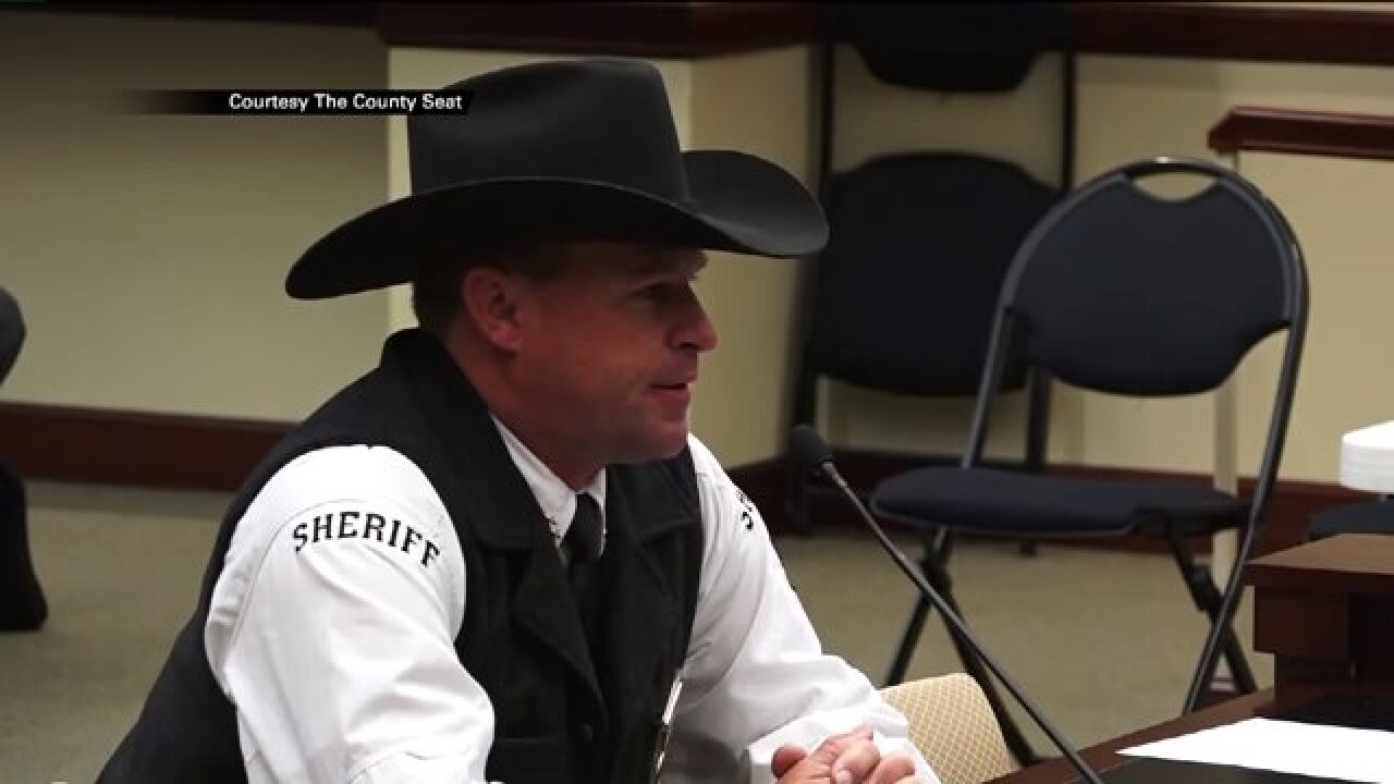 Piute County Sheriff threatens arrest of Forest Service personnel