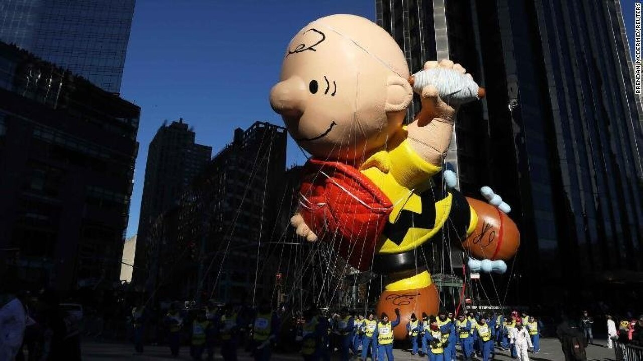 The Macy's Thanksgiving Day Parade might not fly its iconic balloons this year