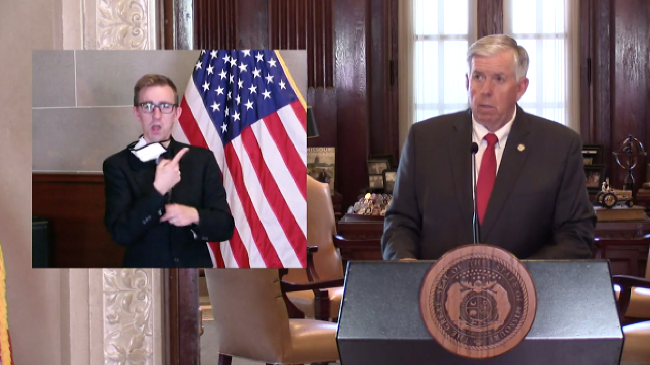 Missouri Gov. Mike Parson June 11 press briefing.png