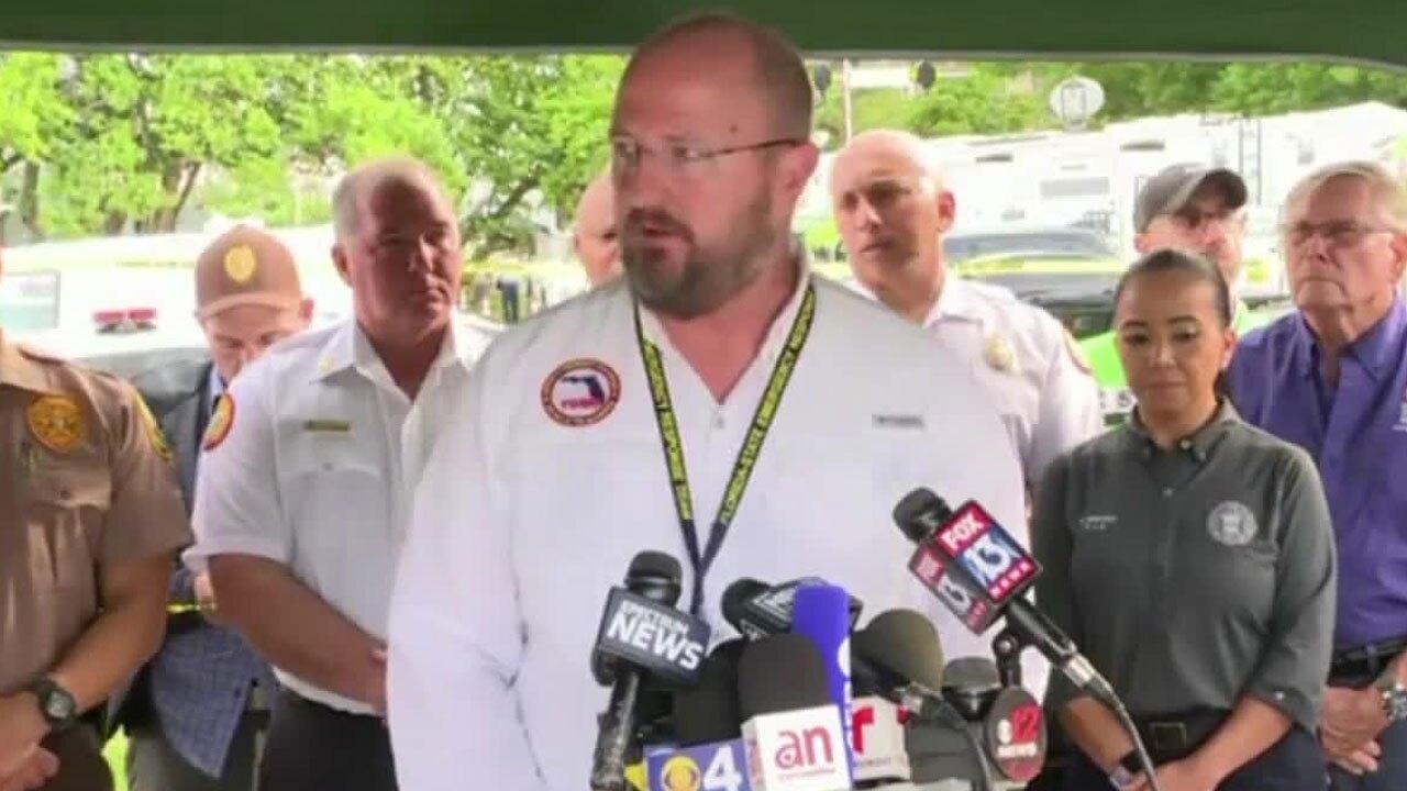 Florida DEM Director Kevin Guthrie
