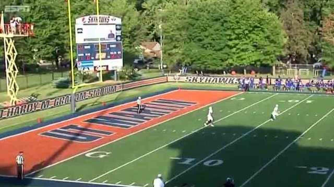 Galloway With 2 TDs, UT Martin Downs Tennessee State 31-16
