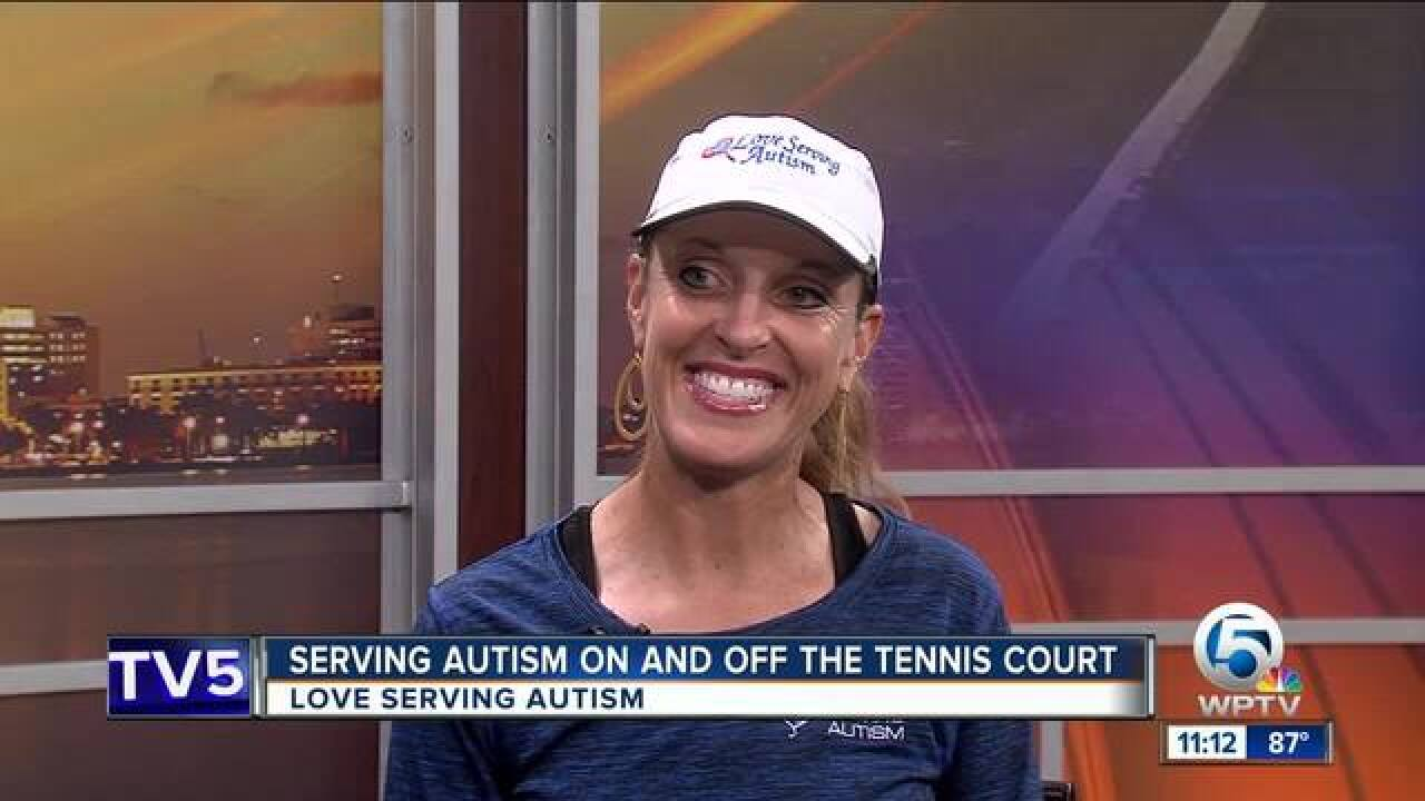 'Love Serving Autism': Red Ball Team Tennis Challenge on July 28