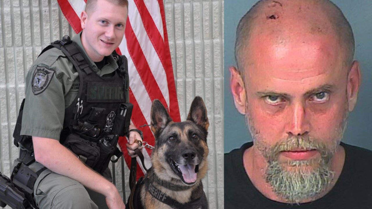 K-9 hunts down suspect who attacked man with metal wand from pressure washer in Hernando Co.