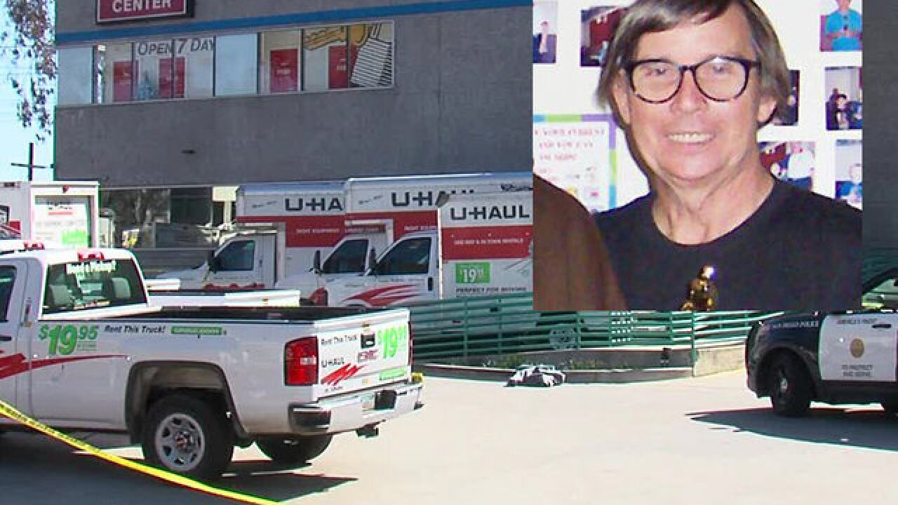 U-Haul employee run over by truck, killed