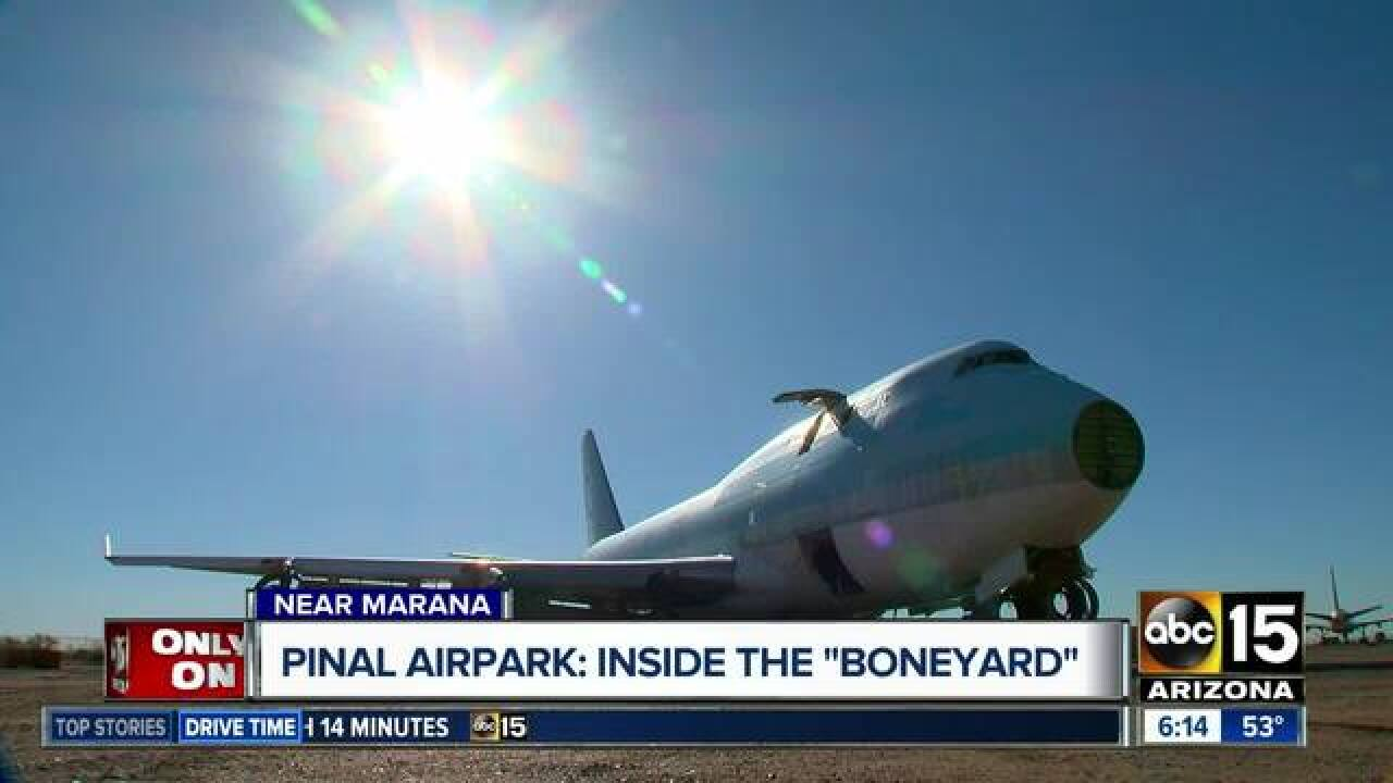 Pinal Airpark: Take a look inside Arizona's 'airplane graveyard'